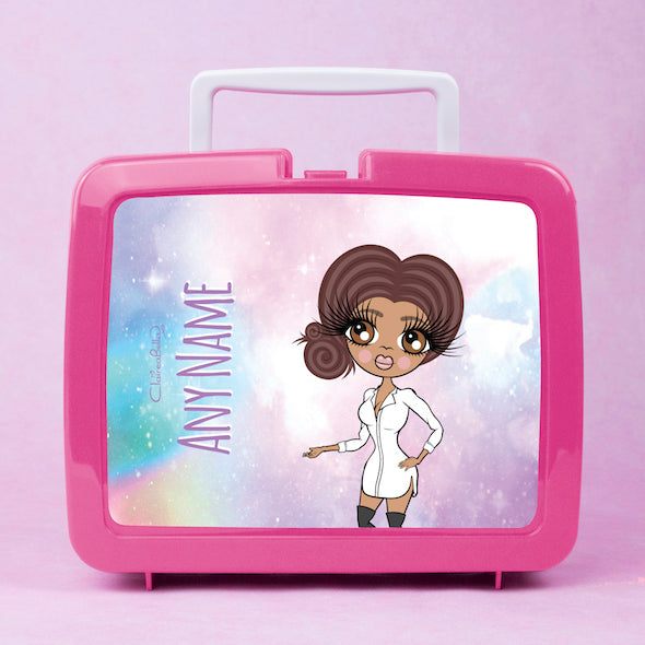 ClaireaBella Unicorn Colours Lunch Box - Image 1