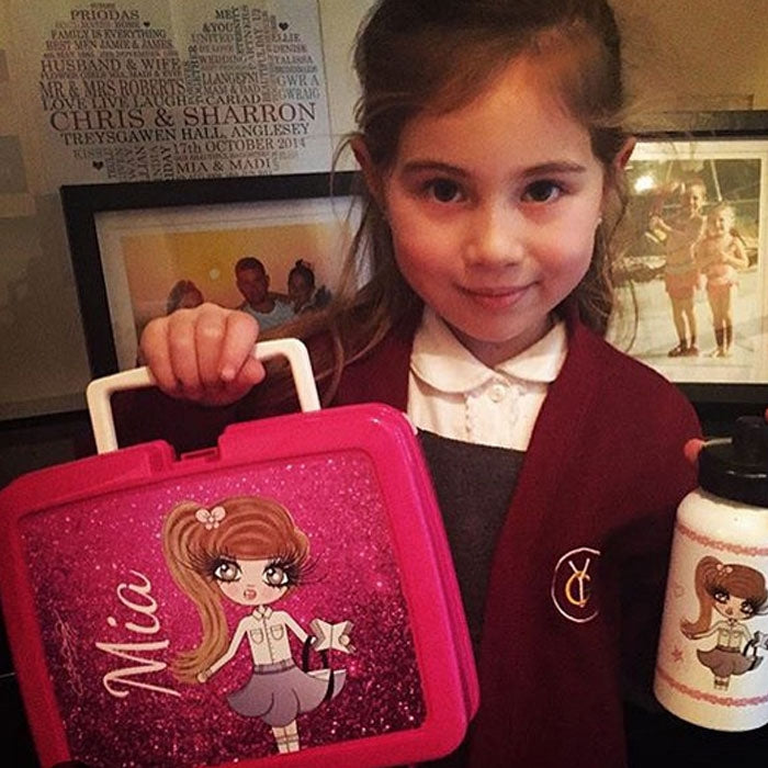 ClaireaBella Girls Rose Lunch Box - Image 8