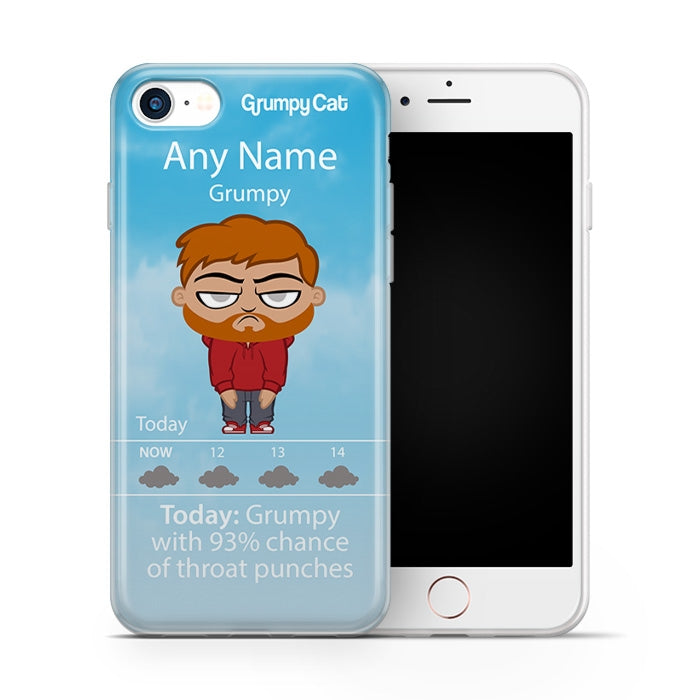 Grumpy Cat Weather Phone Case - Image 3