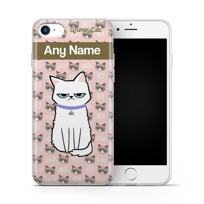 Grumpy Cat Emoji Phone Case - Image 4