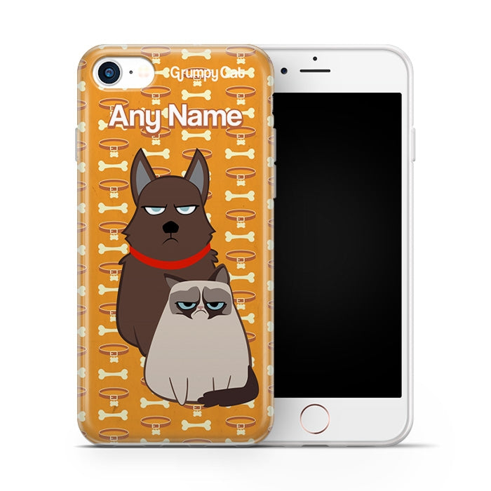 Grumpy Cat Bone Collar Phone Case - Image 4