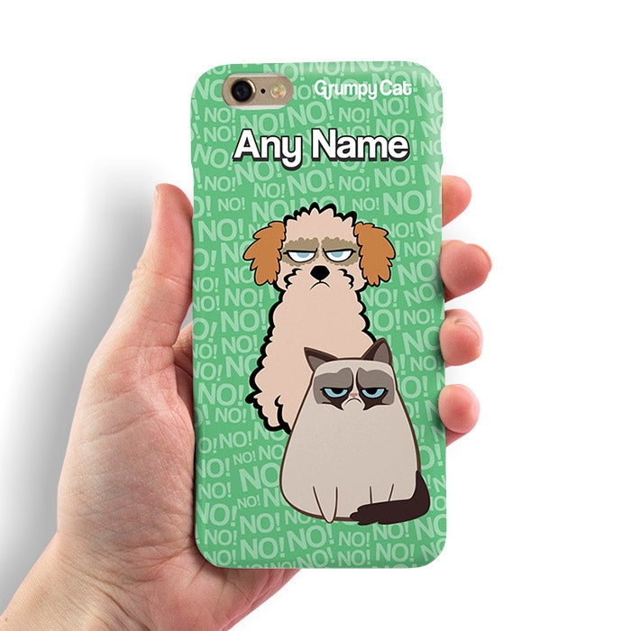 Grumpy Cat No! Phone Case - Image 3