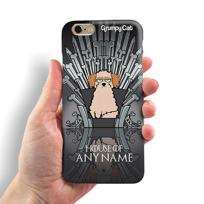 Grumpy Cat Throne Of Bones Phone Case - Image 1