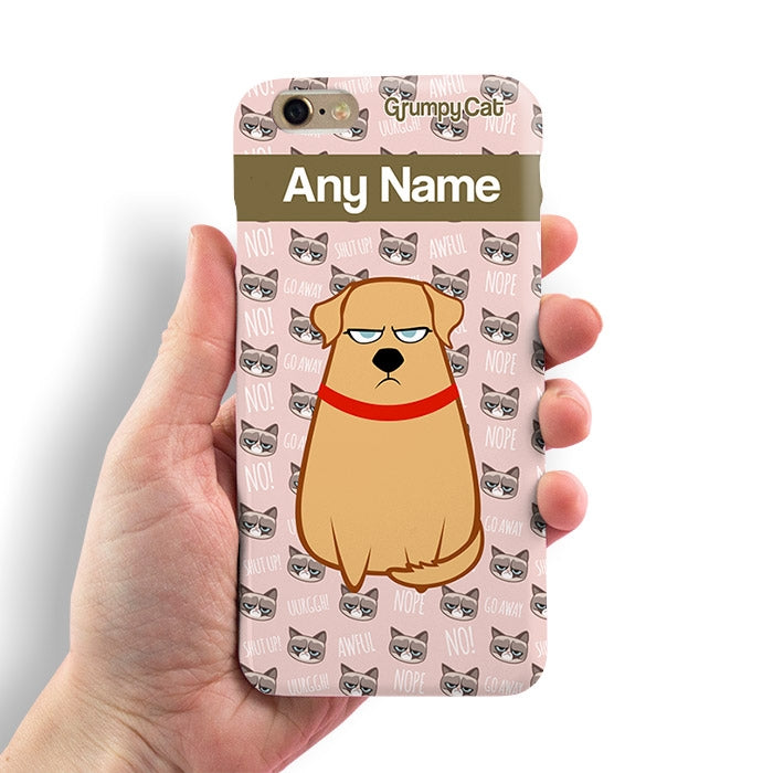 Grumpy Cat Emoji Phone Case - Image 2