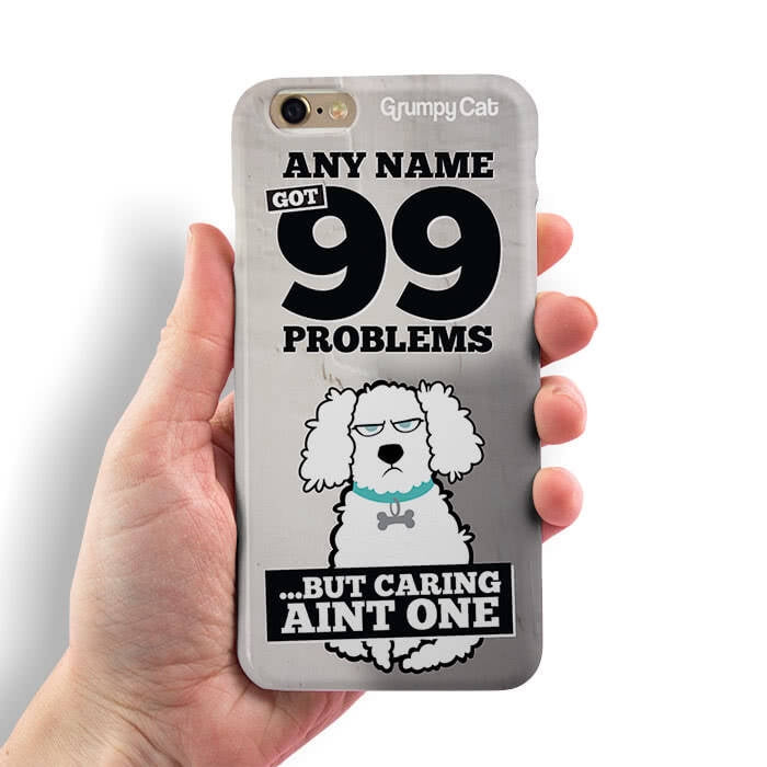 Grumpy Cat 99 Problems Phone Case - Image 4