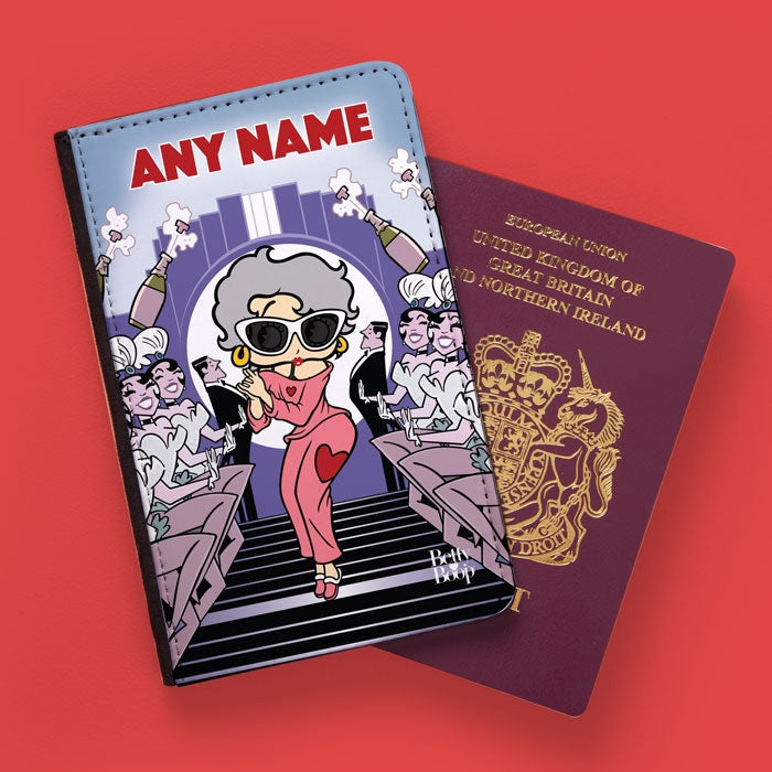 Betty Boop Showtime Passport Cover - Image 1
