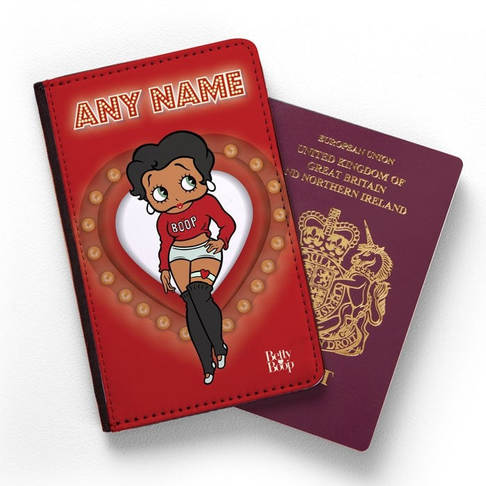 Betty Boop Name In Lights Passport Cover - Image 1