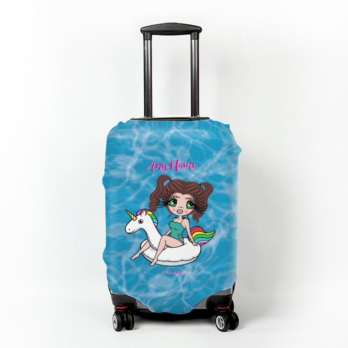 ClaireaBella Pool Side Suitcase Cover - Image 1