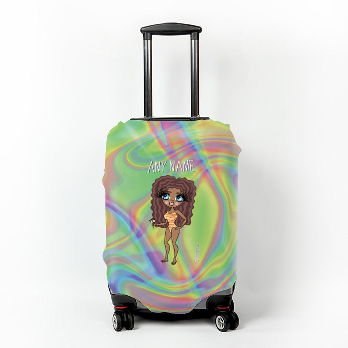 ClaireaBella Hologram Suitcase Cover - Image 1