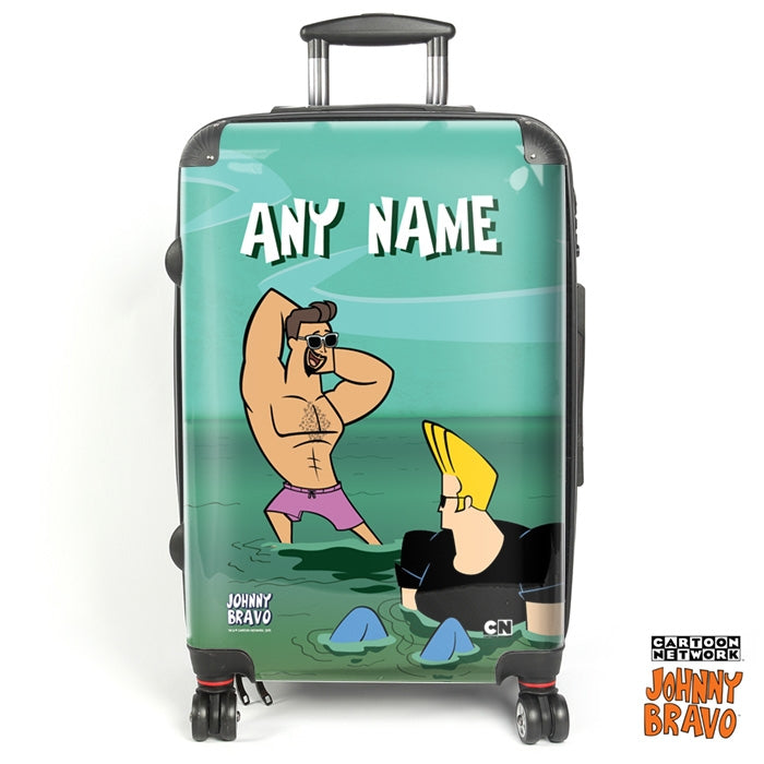 Johnny Bravo Guys Fresh Out Of Water Suitcase - Image 1
