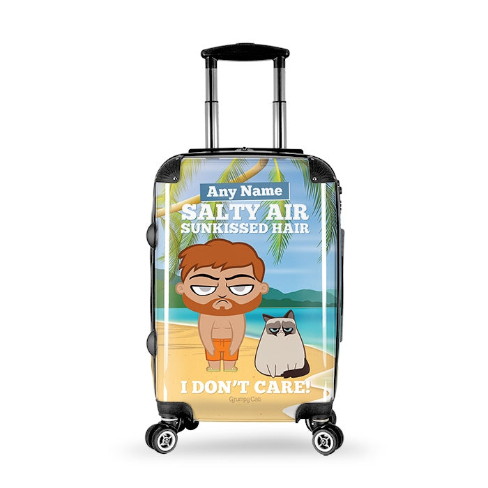 Grumpy Cat Sunkissed Suitcase - Image 1