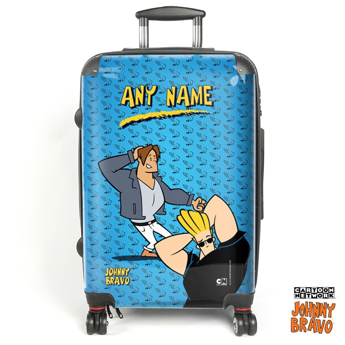 Johnny Bravo Guys Bravo Brains Suitcase - Image 1