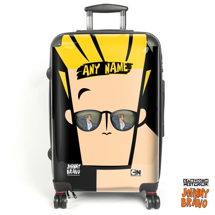 Johnny Bravo Guys Close Up Suitcase - Image 1
