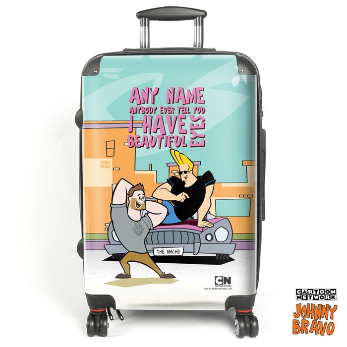 Johnny Bravo Guys Eyes For You Suitcase - Image 1