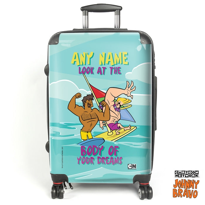 Johnny Bravo Guys Dream Body Suitcase - Image 1