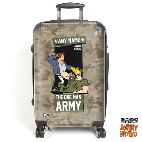 Johnny Bravo Guys Army Suitcase - Image 1