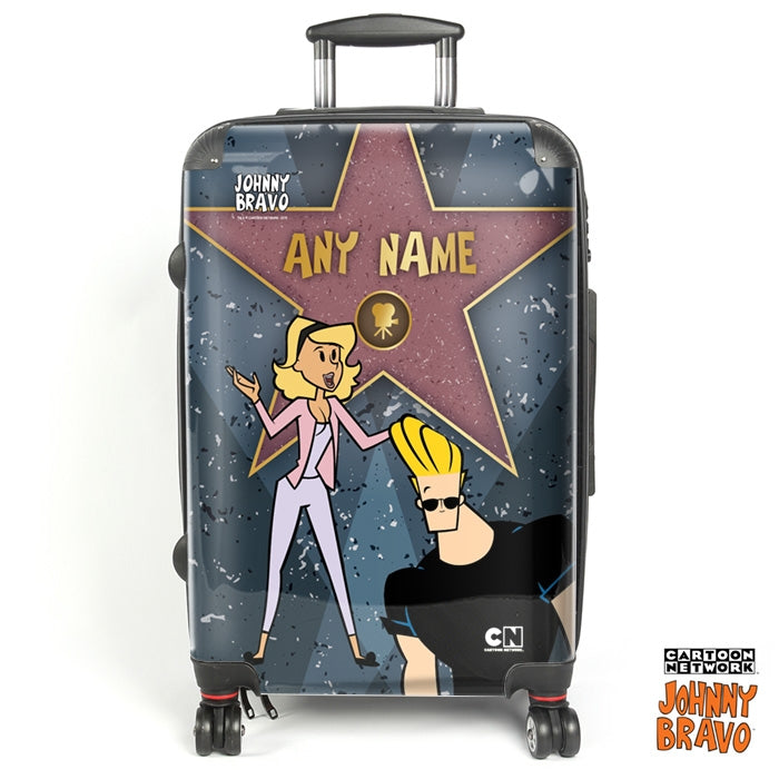 Johnny Bravo Ladies Walk Of Fame Suitcase - Image 1