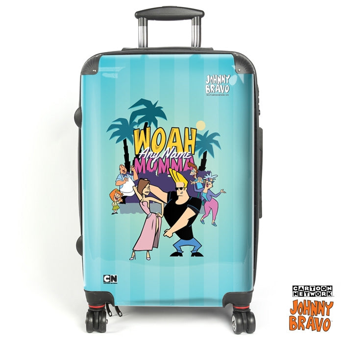 Johnny Bravo Ladies Blue Monkey Dance Suitcase - Image 1