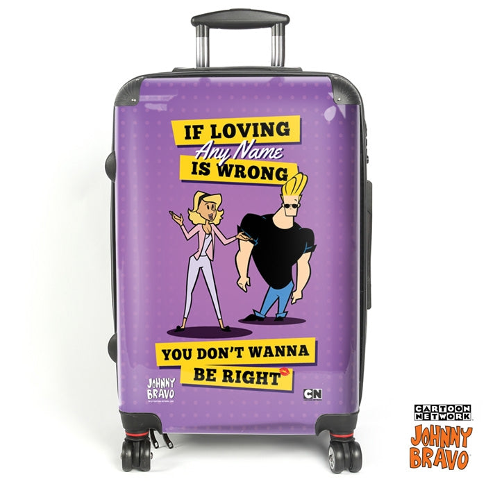 Johnny Bravo Ladies Loving Me Suitcase - Image 1