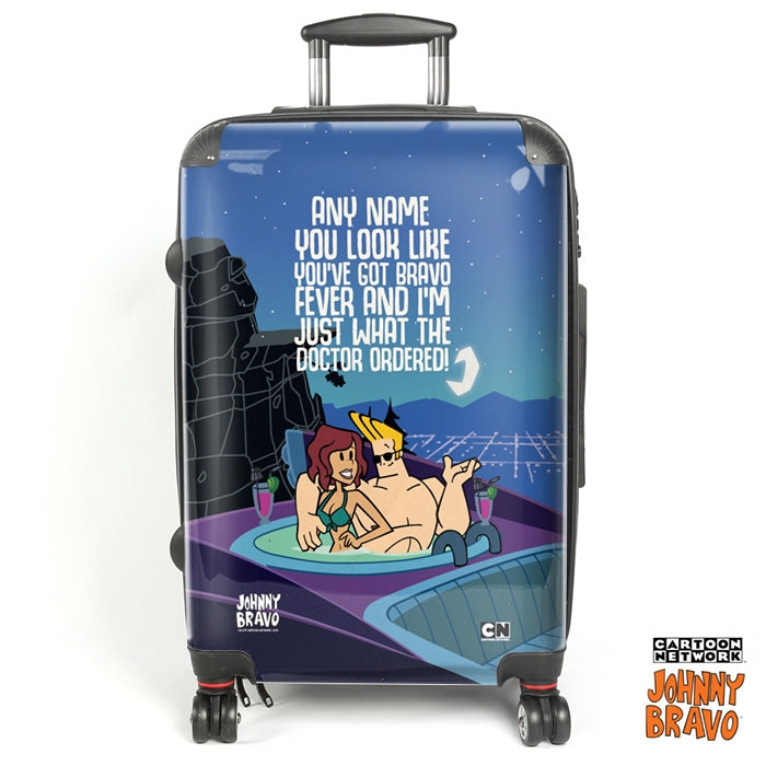 Johnny Bravo Ladies Jacuzzi Fever Suitcase - Image 1