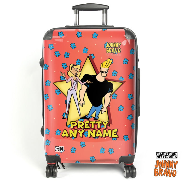 Johnny Bravo Ladies Flower Power Suitcase - Image 1