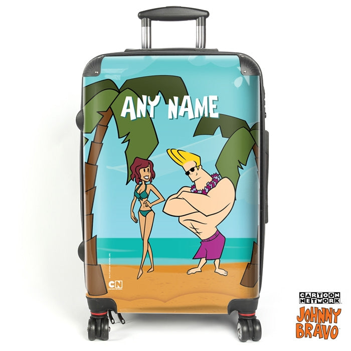 Johnny Bravo Ladies Palm Island Suitcase - Image 1