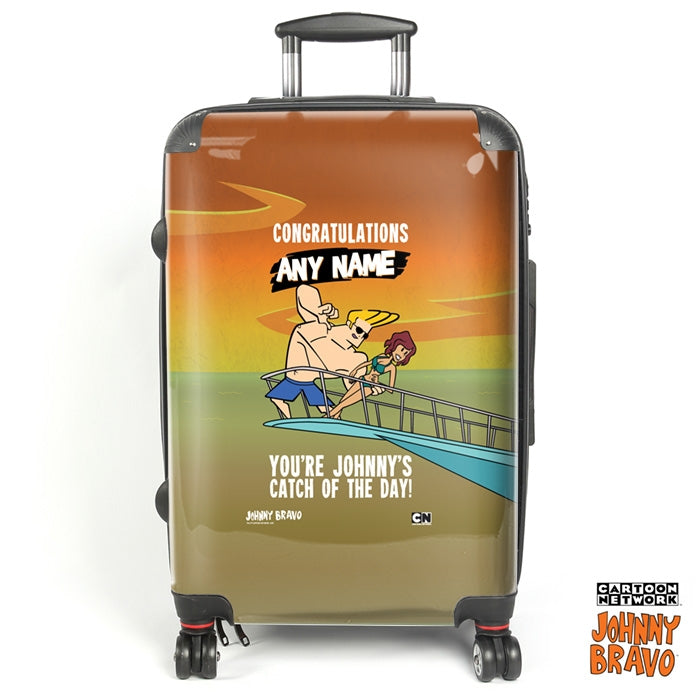 Johnny Bravo Ladies Catch Of The Day Suitcase - Image 1