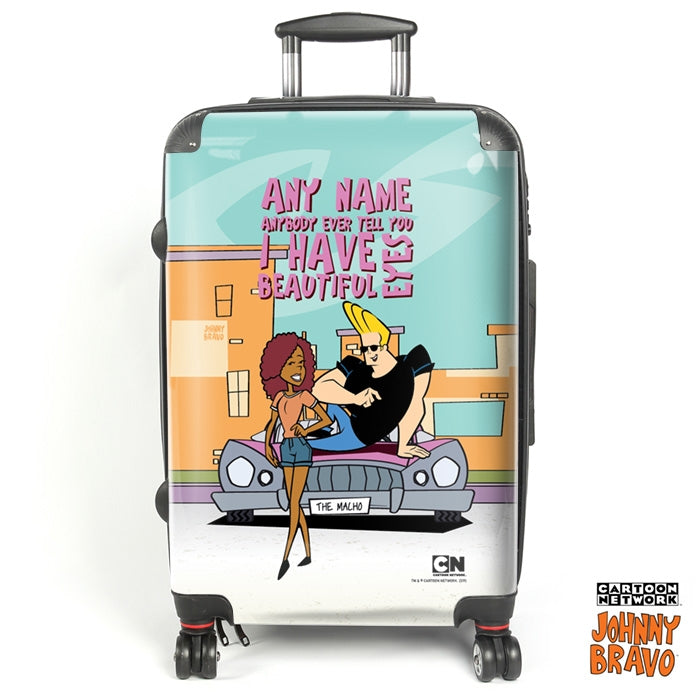 Johnny Bravo Ladies Eyes For You Suitcase - Image 1
