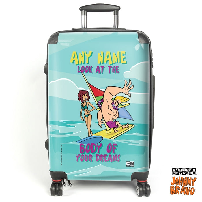 Johnny Bravo Ladies Dream Body Suitcase - Image 1
