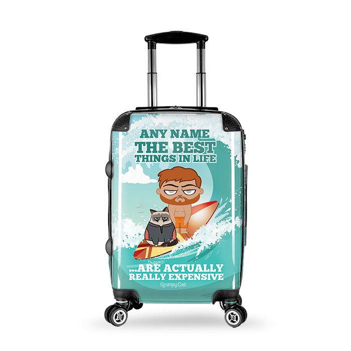 Grumpy Cat Best Things Suitcase - Image 7