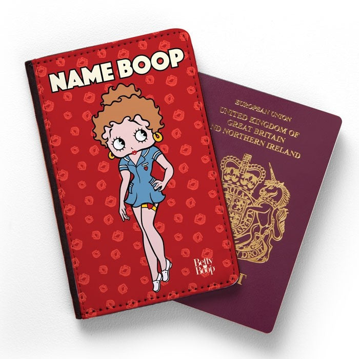 Betty Boop A Thousand Kisses Passport Cover - Image 1