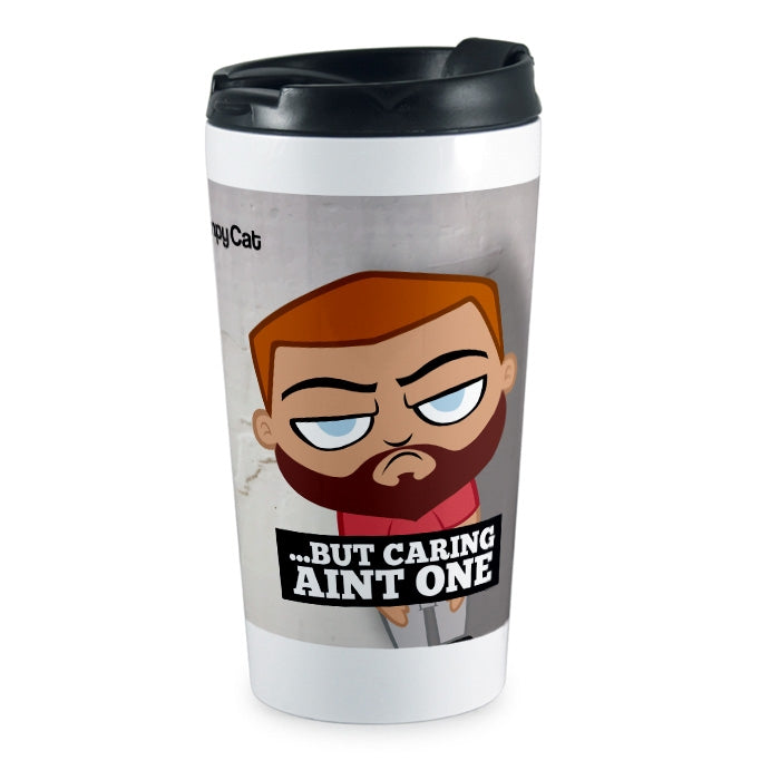 Grumpy Cat 99 Problems Travel Mug - Image 4