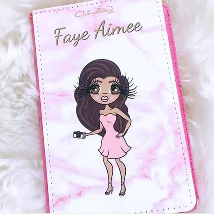 ClaireaBella Marble Effect Passport Cover - Image 1