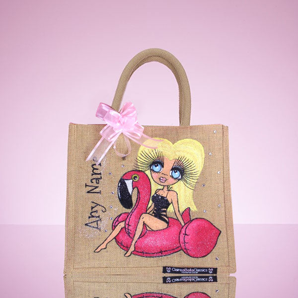 ClaireaBella Pool Side Medium Jute bag - Image 1