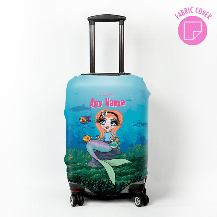 ClaireaBella Girls Mermaid Suitcase Cover