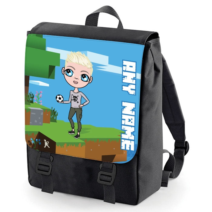 Jnr Boys Craft Blocks Backpack - Image 1