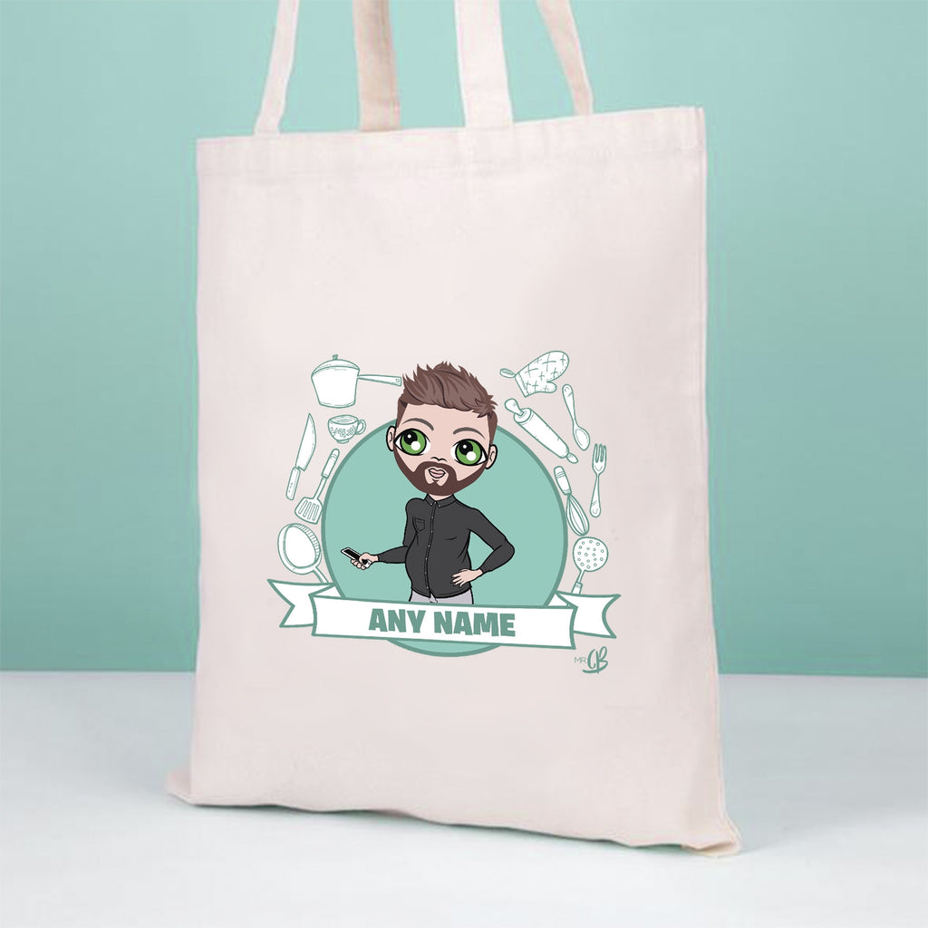 MrCB Chef Icon Canvas Bag - Image 1