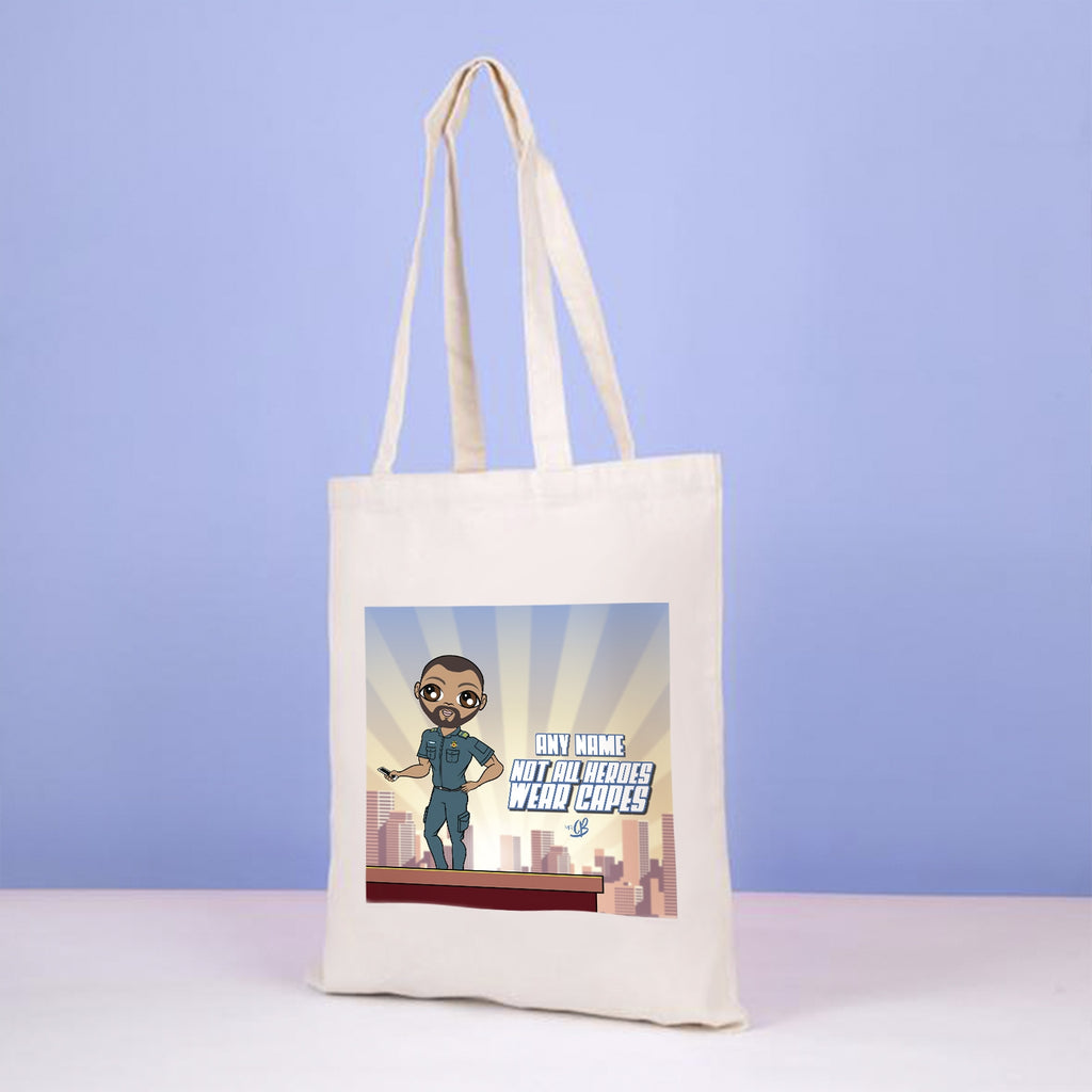 MrCB Not All Hero's Wear Capes Canvas Bag - Image 1