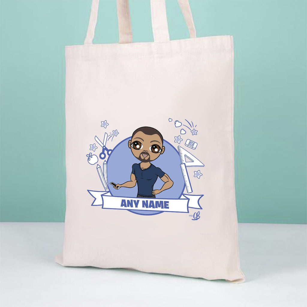 MrCB Teacher Icons Canvas Bag - Image 3