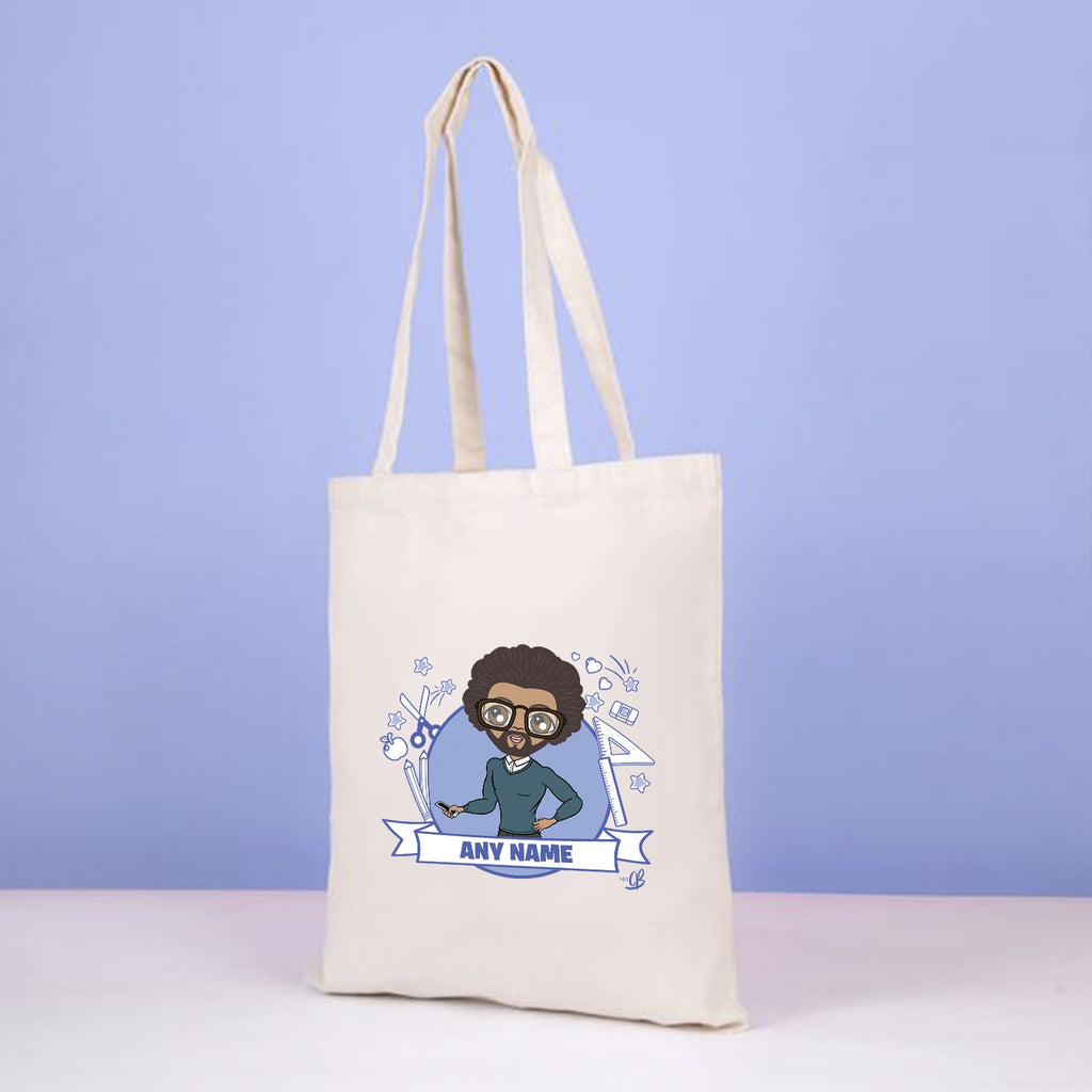 MrCB Teacher Icons Canvas Bag - Image 4