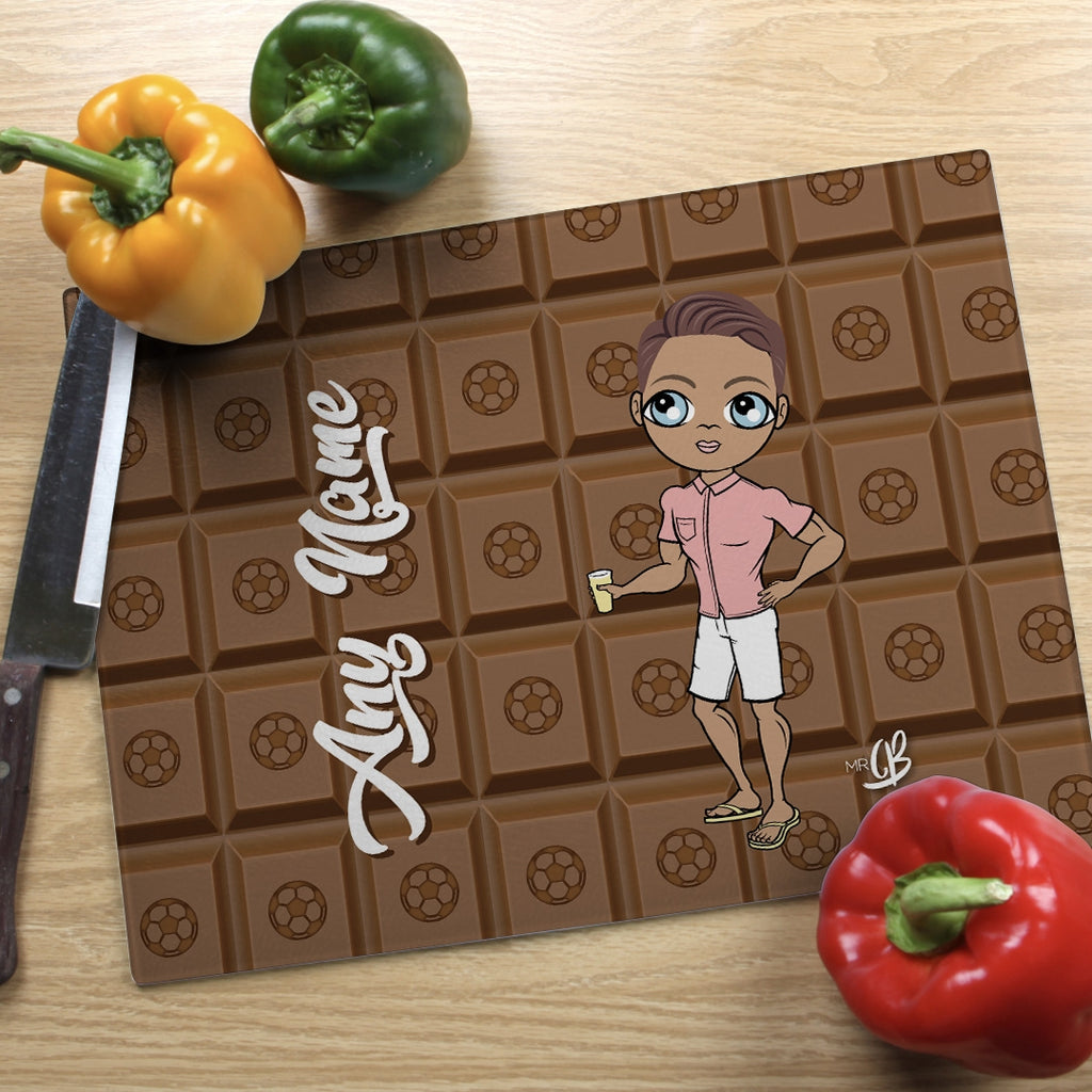 MrCB Landscape Glass Chopping Board - Chocolate - Image 1