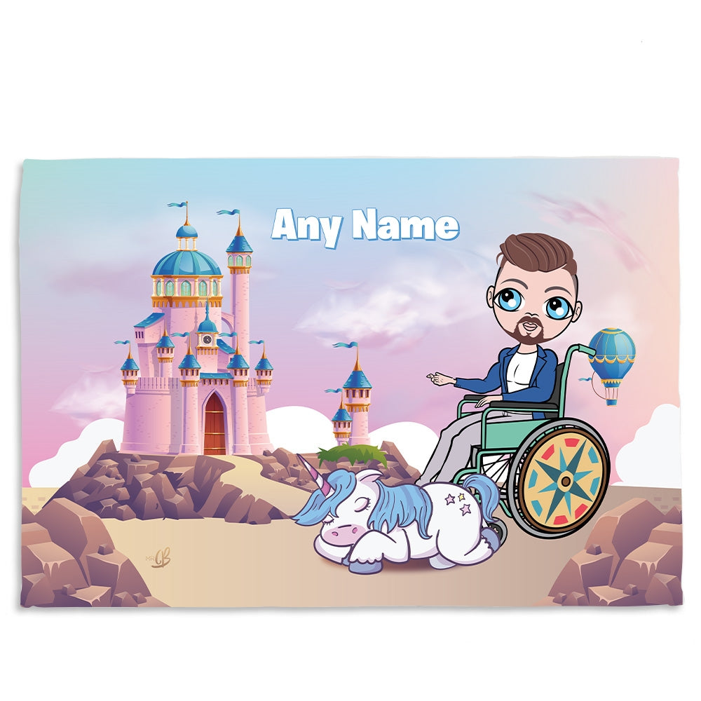MrCB Dreamlands Wheelchair Fleece Blanket - Image 1