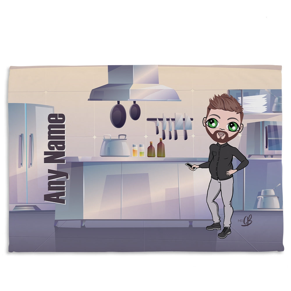 MrCB Kitchen Fleece Blanket - Image 1