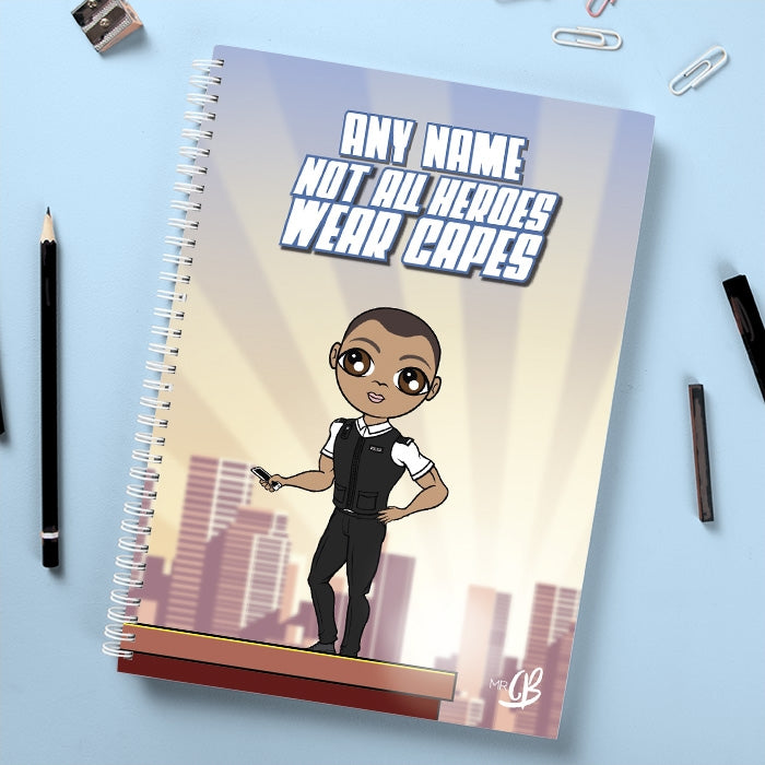 MrCB Not All Heroes Wear Capes Notebook - Image 1