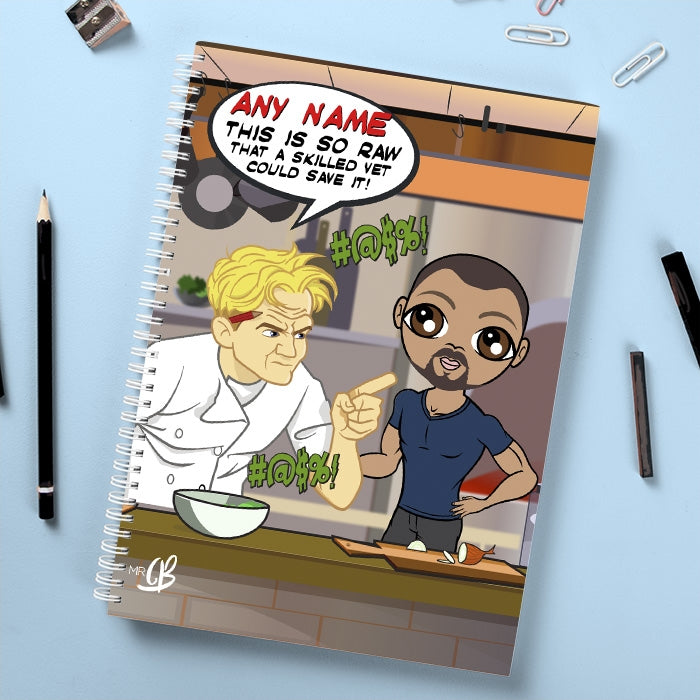 MrCB Shouting Chef Notebook - Image 1
