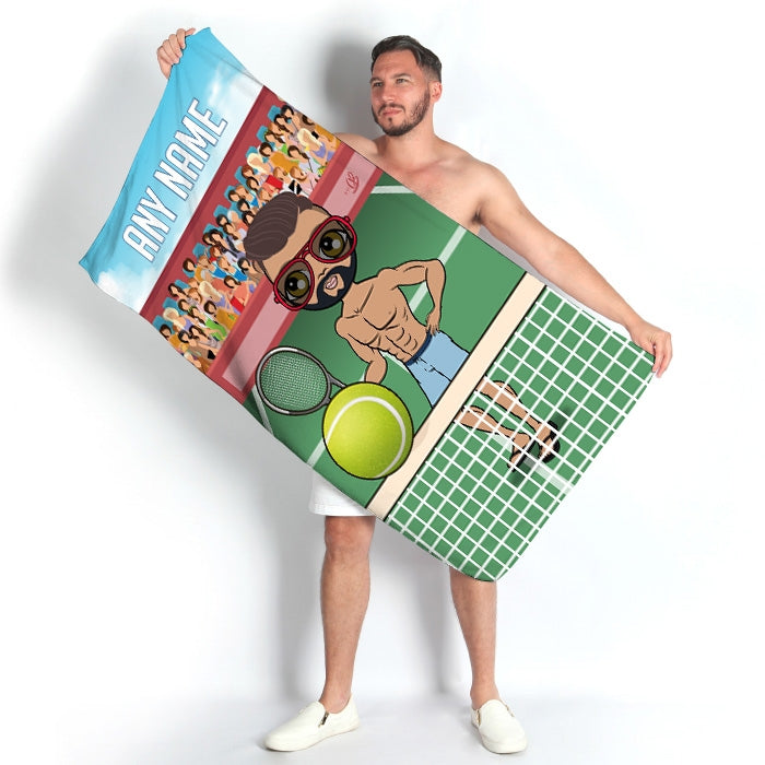 MrCB Tennis Beach Towel - Image 1