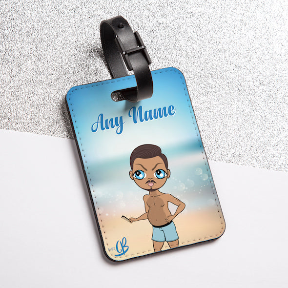 MrCB Beach Colours Luggage Tag - Image 2