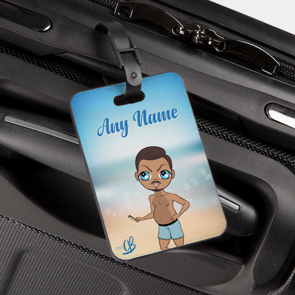 MrCB Beach Colours Luggage Tag - Image 1