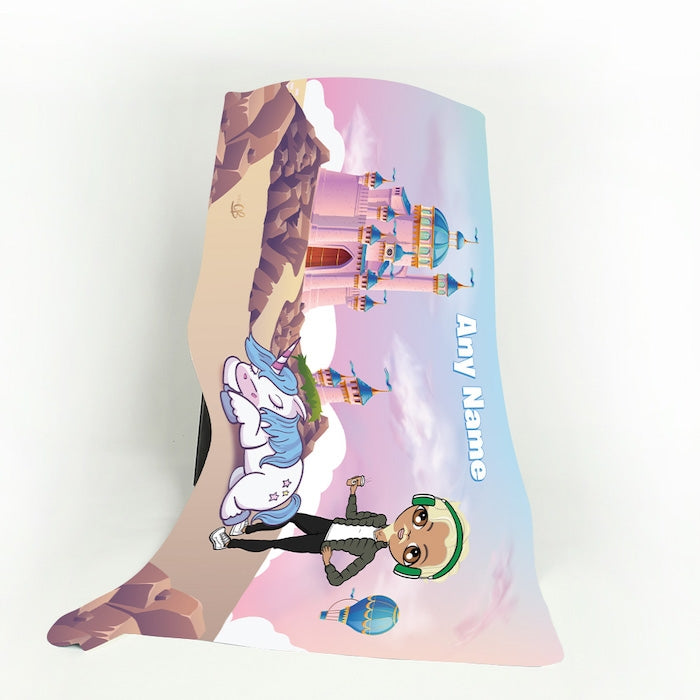 MrCB Dreamlands Fleece Blanket - Image 1