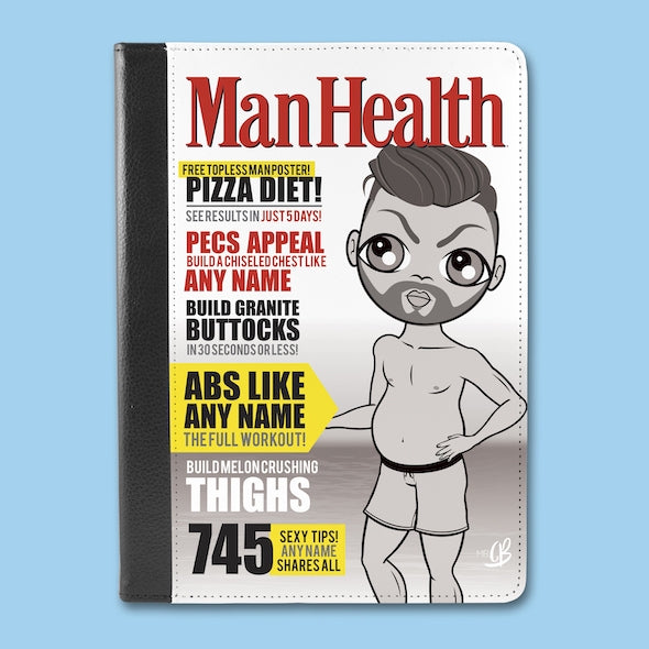 MrCB Man Health iPad Case - Image 1